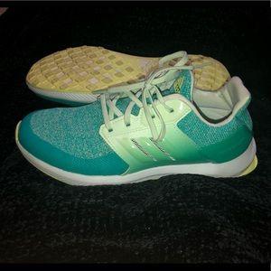 Adidas shoes size 4 fits like 5
